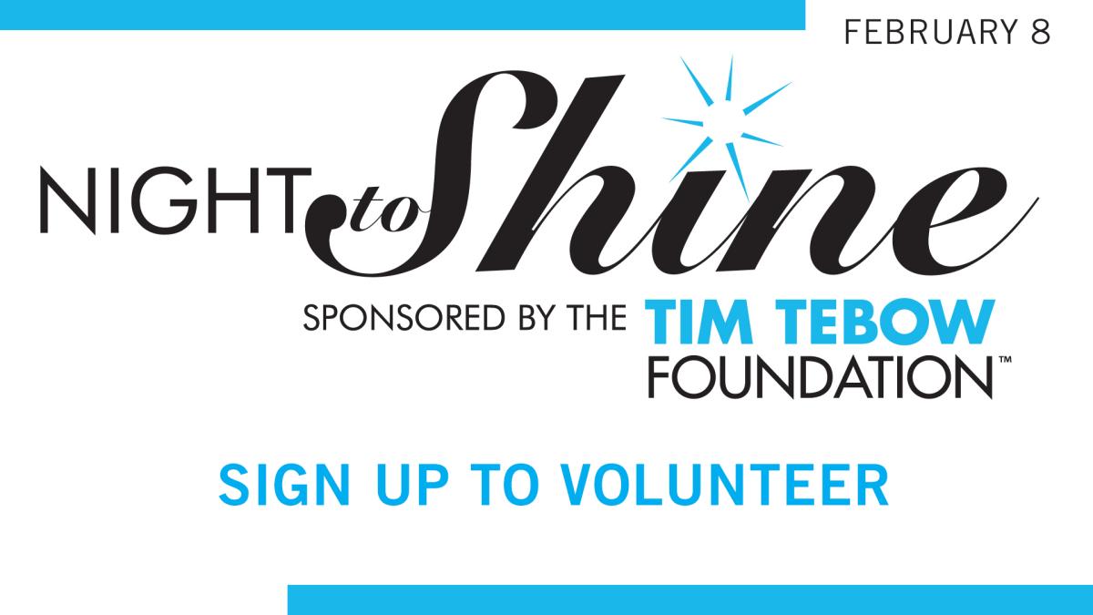 Night to Shine Volunteer