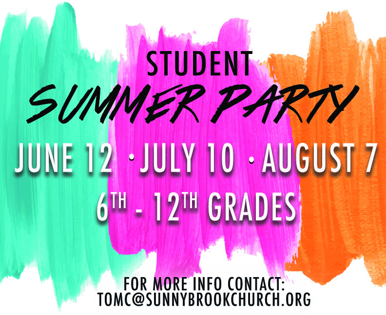 Student Summer Party